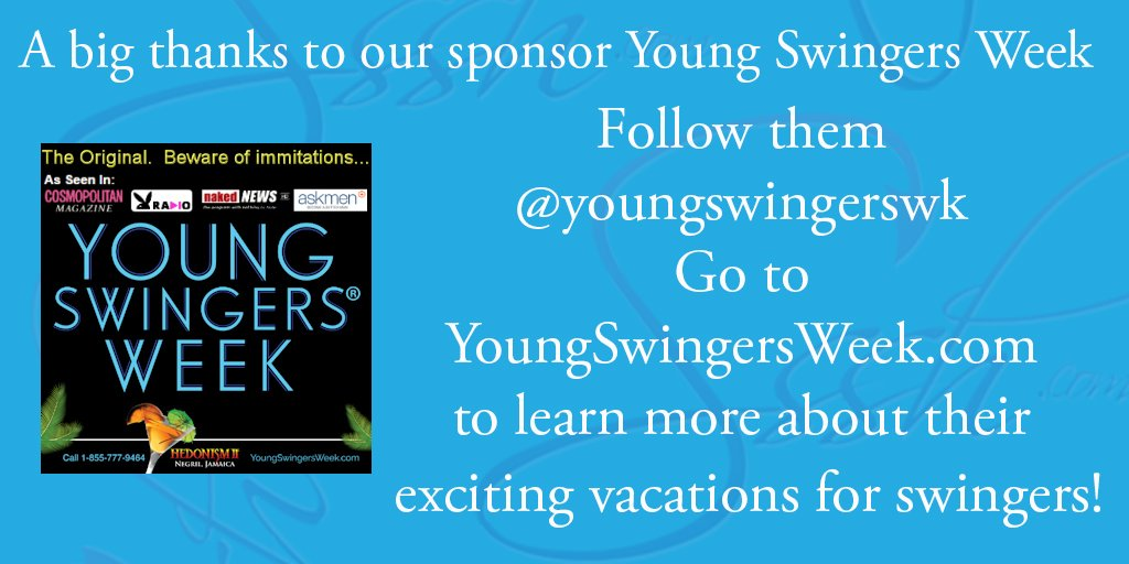 A big thank you to @YoungSwingersWk for sponsoring this week's #SexTalkTuesday! https://t.co/cOMl7z43AY https://t.co/gtjtM9nqsr