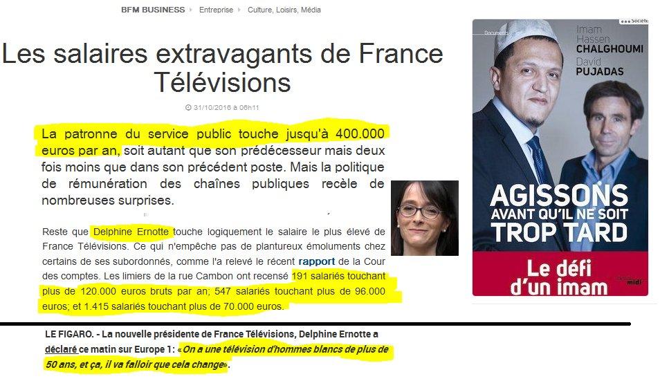 #Pujadas est l&#39; #EnvoyeSpecial de #Hollande et de #macron ! Le service public...dirigé par #Ernotte ... #LEntretienPolitique<br>http://pic.twitter.com/xbHOVxMq85