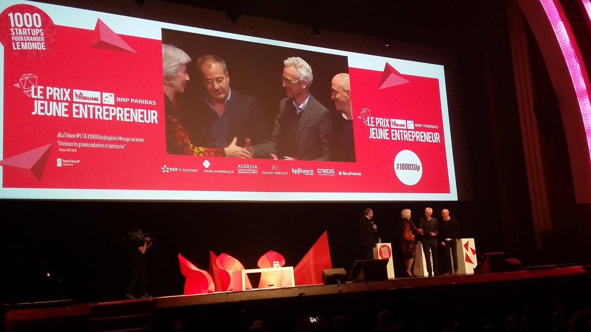 Bravo @DEVIALET@QuentinSannie  #entrepreneurdelannée #levéedefonds  #100Millions€ pour devenir #leadermondial du #son #1000SUp @LaTribune<br>http://pic.twitter.com/UdSnkK3Ulx