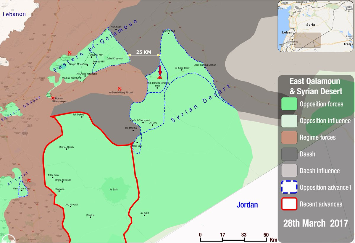 Fsa news on twitter new map syria map showing recent fsa fsa news on twitter new map syria map showing recent fsa advances against daesh in south syria desert areas moving to break the siege on east gumiabroncs Choice Image