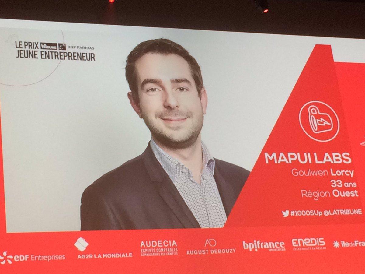 #Start redécouvrez @_mapui, #startup récompensée au #PLTJE2017 @mabanque_bnpp #1000SUphttp://bit.ly/2nepSrs<br>http://pic.twitter.com/ntNzinRuYq