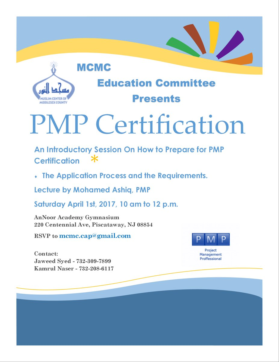 Mcmc On Twitter An Introductory Session On How To Prepare For Pmp