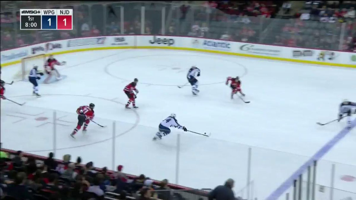 Taylor Hall is sent in on a breakaway and makes finishing off the play...