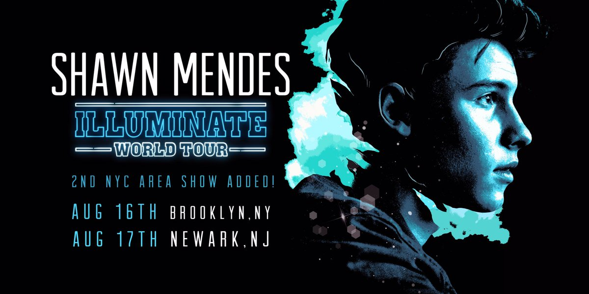 2nd NYC area show added at Barclays Center 8/16! Presales start 4/2 & onsale 4/8. Info here  https://t.co/DI1JSXsoTP#IllluminateWorldTour