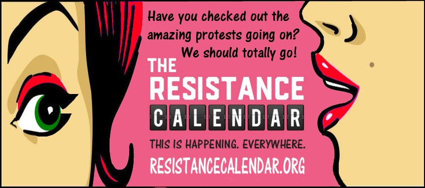 #TheResistance #TrumpProtest #Protest  Find events or submit your event:   http:// RESISTANCECALENDAR.ORG  &nbsp;    Plan your week! Plan to #Resist<br>http://pic.twitter.com/PwqhaqTvPs