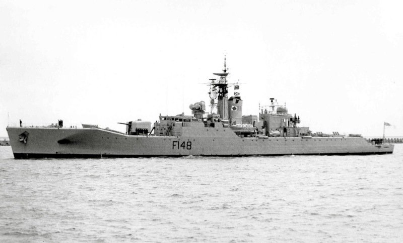 #OnThisDay 28 March 1961: Rothesay-class frigate HMNZS Taranaki (F148)...