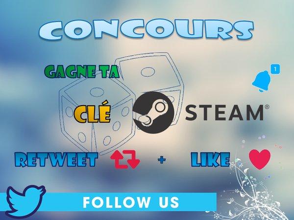 #CONCOURS    Gagne 1 clé steam    Viens jeter un oeil à la boutique #RT #LIKE #FOLLOW @Steam_Seller  TAS : 50rt <br>http://pic.twitter.com/FnDfiTcNmB