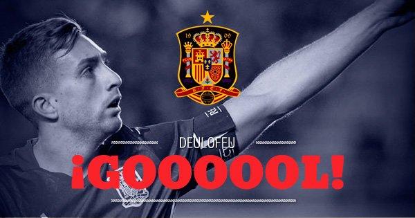 EN DIRECTO | ¡Gol de Deulofeu! Francia 0-2 España https://t.co/JzNVU9I...