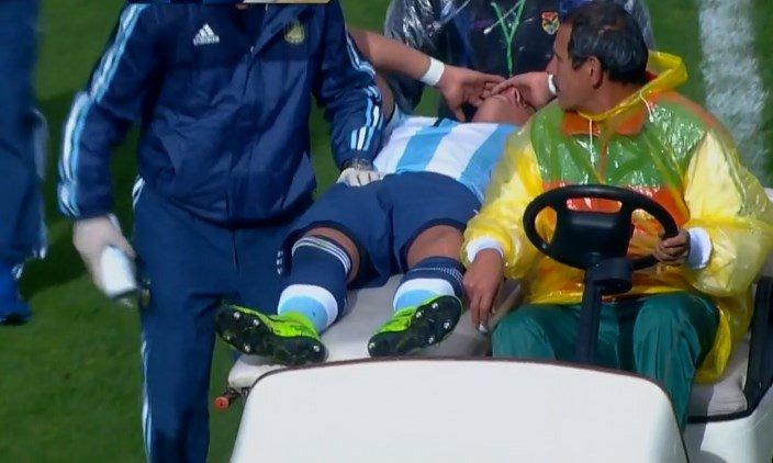 Más malas noticias para Argentina, se lesionó Funes Mori e ingresó Car...
