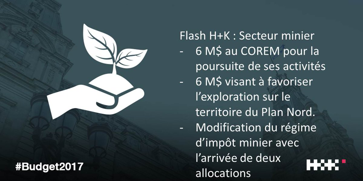 FLASH secteur minier  #Budget2017 #BudgetQc #polqc #assnat <br>http://pic.twitter.com/RR14SCrgq2