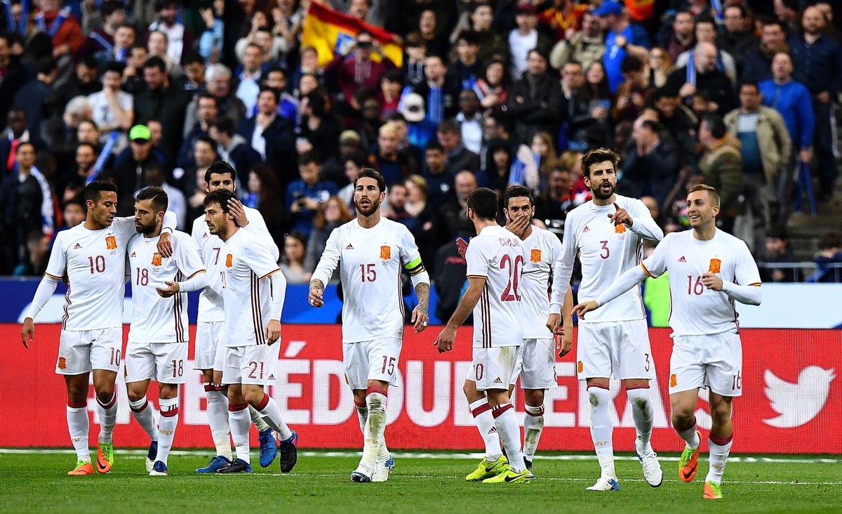 France 0-2 Spain FT:  Goals from David Silva & Gerard Deulofeu gif...