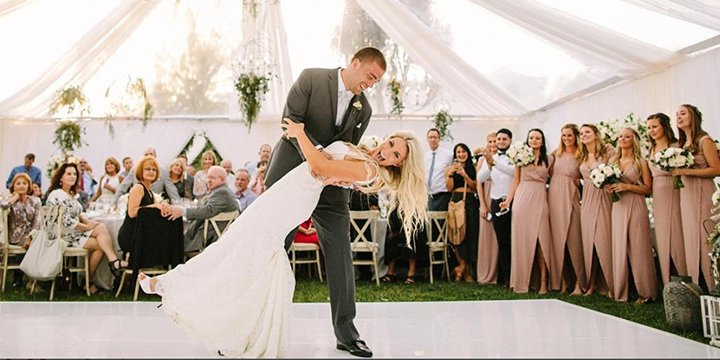 Soccer star Julie Johnston marries NFL player Zach Ertz https://t.co/5...