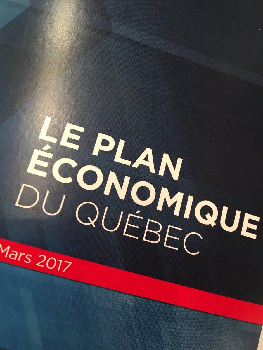 On a un plan. On le suit. On fait ce qu&#39;on a dit qu&#39;on allait faire. On réussit. Ensemble pr faire avancer le Qc. #budget2017 #polqc #plq<br>http://pic.twitter.com/7Amj63JM3p