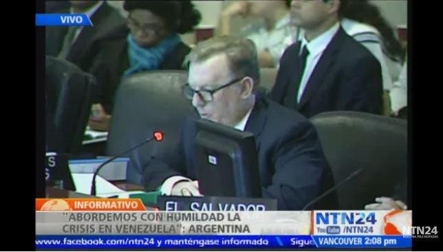 #ENVIVO | Estados Unidos cita el informe de Almagro en #SesiónOEA: Ven...