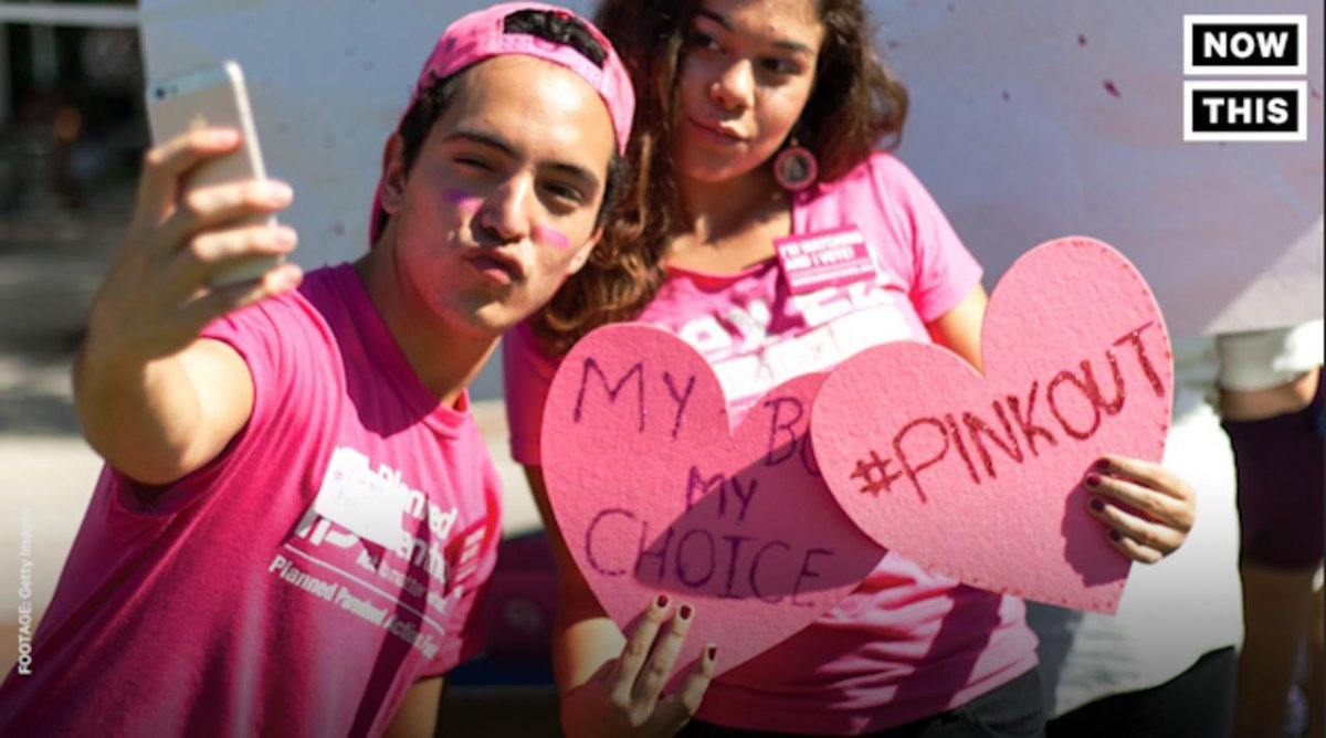 Planned Parenthood and its supports are planning a nationwide #PinkOut...