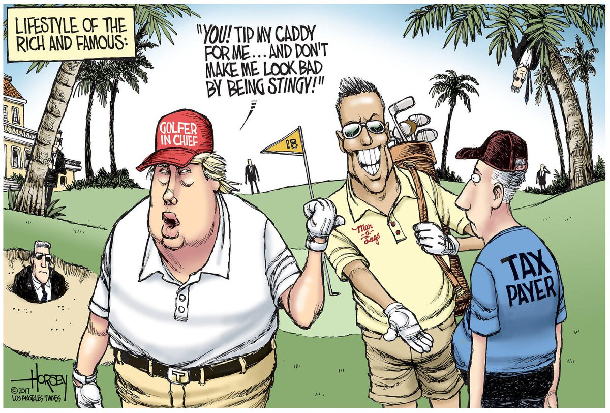 Trump S Jaunts In 10 Weeks Cost As Much As Obama Trips Did