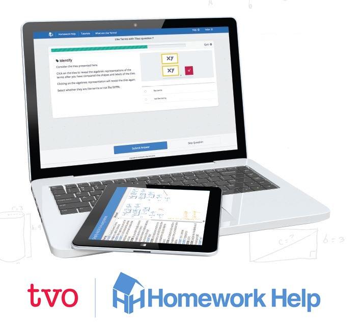 Homework help for parents math