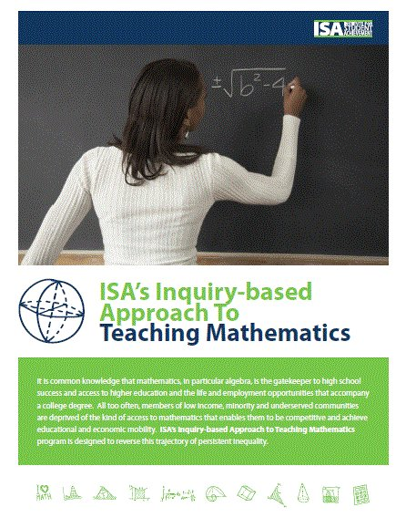 Inquiry-based math instruction puts Ss at the center of teaching and l...
