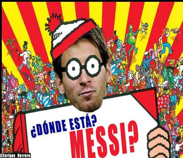 Where's Messi / ¿Dónde esta #Messi? #MessiBan #Messigate https://t.co/4jsP49bshh