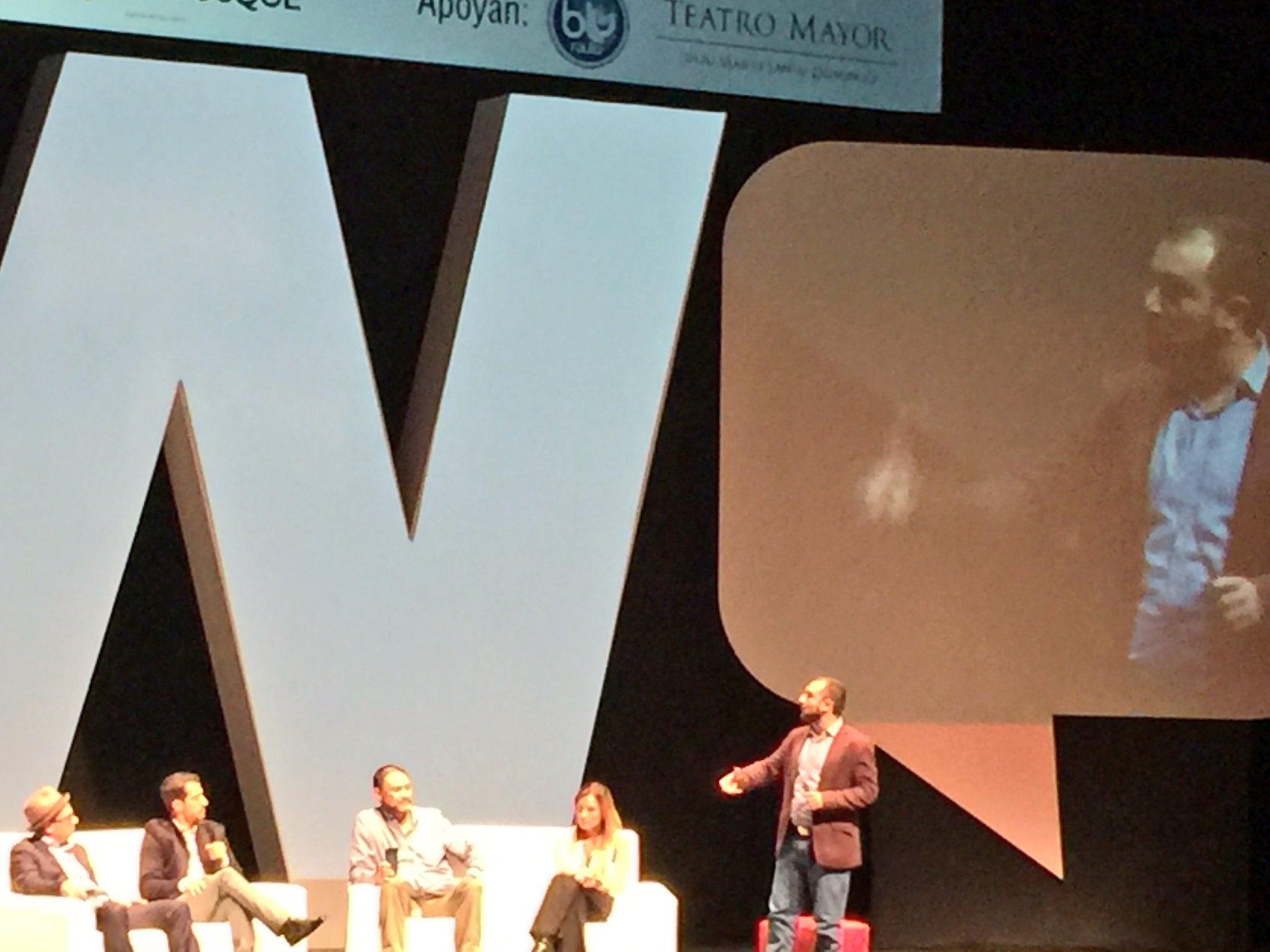 Ahora @TuyoIsaza @LaPataSola y otros en el panel sobre influenciadores del #webcongress https://t.co/zxXIw1kMZ0