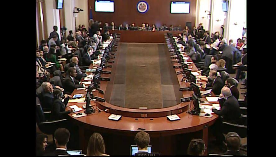 #ENVIVO | Finaliza la  #SesiónOEA sobre Venezuela sin acuerdos sobre l...