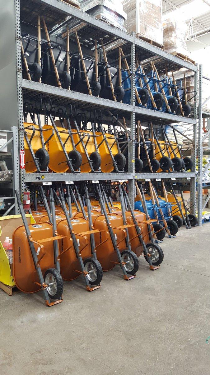 Do you need a wheelbarrow? Plenty to choose from :) @0207Homedepot  locked and loaded @billyb_63