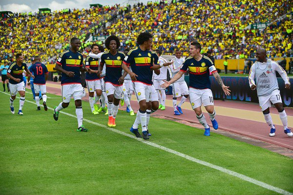 Video: Ecuador vs Colombia
