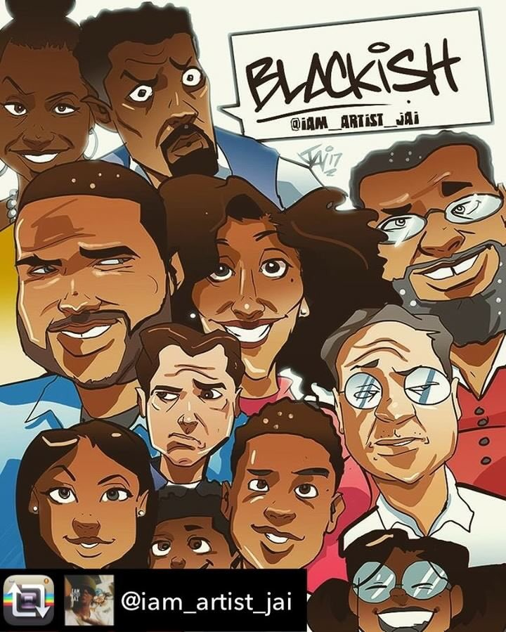 I thought this was pretty cool! #blackish All new episode tomorrow 9:3...