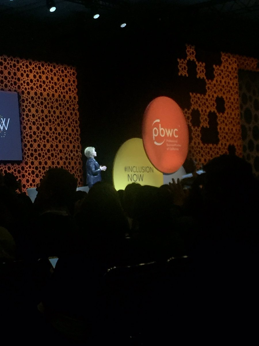 This is what a President looks like. #PBWC #InclusionNow #Stillwithher <br>http://pic.twitter.com/CeVGSb77CB