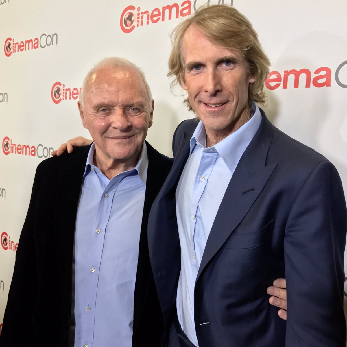Having a great time at #cinemacon with @michaelbay for @transformers in #lasvegas