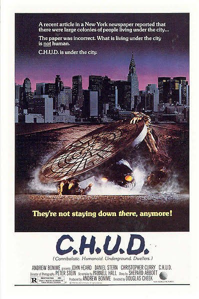 Top 10 #80shorrormovies: Number 9 #CHUD #80shorror #horrorblock #scary #creepy #Bhorror #film #horror #ilovehorror #horrorfan #scarymovie<br>http://pic.twitter.com/5PYADc5cBK