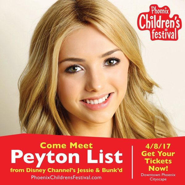 Downtown phoenix dtphx on twitter peytonlist is coming to meet the disney star april 8 at phoenix childrens festival at cityscapephx httpbit2ngv3yv picitter4ywcbqjxfg m4hsunfo