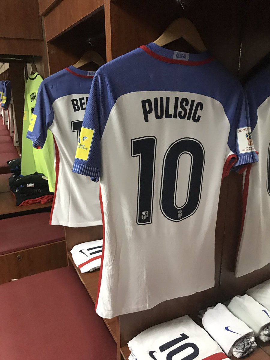 The kits are ready as the #USMNT gets set for Panama. #USAvPAN https:/...