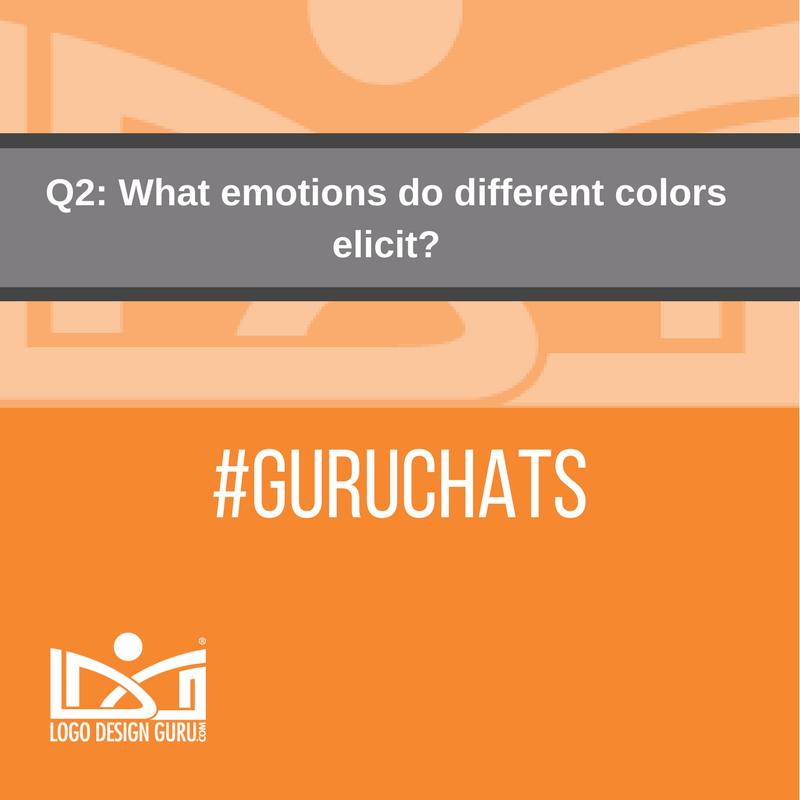 Q2: What emotions do different colors elicit? #GuruChats https://t.co/NDf7sqKmIu