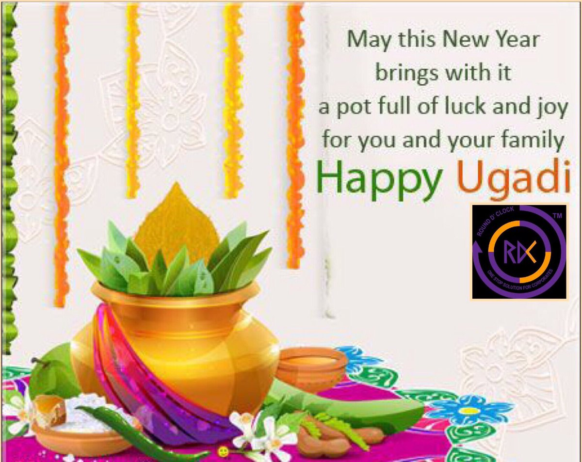 May this new year bring you and your family loads of Joy &amp; success wishing everyone Happy Ugadi 2017!!! #Happy #Ugadi #Startup #INDIA #RDC<br>http://pic.twitter.com/9b5azxVSBm