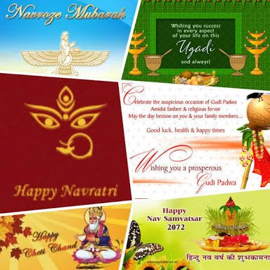 Happy Ugadi, GudiPadwa, Navroze, Navaratri, ChetiChand To All  May this #newyear bring loads of happiness, love &amp; prosperity in our lives <br>http://pic.twitter.com/uTMHaJ1pnE