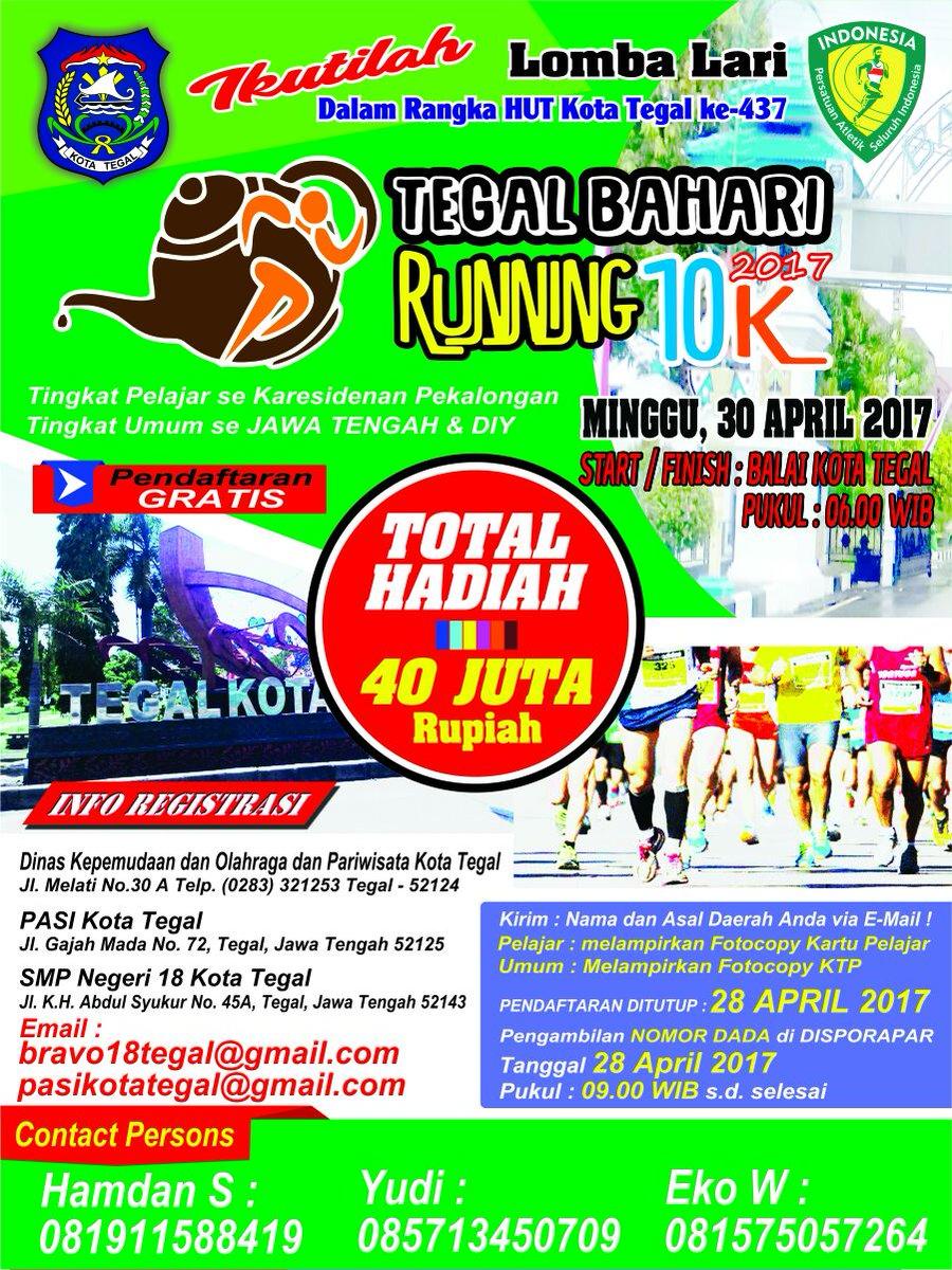 Tegal Bahari 10K • 2017