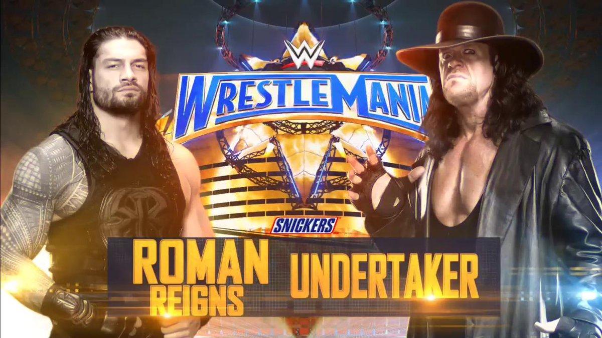 WHOSE YARD IS IT? A turf war will take place when @WWERomanReigns batt...