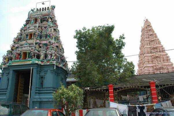 In light of #Navaratri I would like to share images of the beautiful Draupadi Amman temple in #Malacca, Malaysia