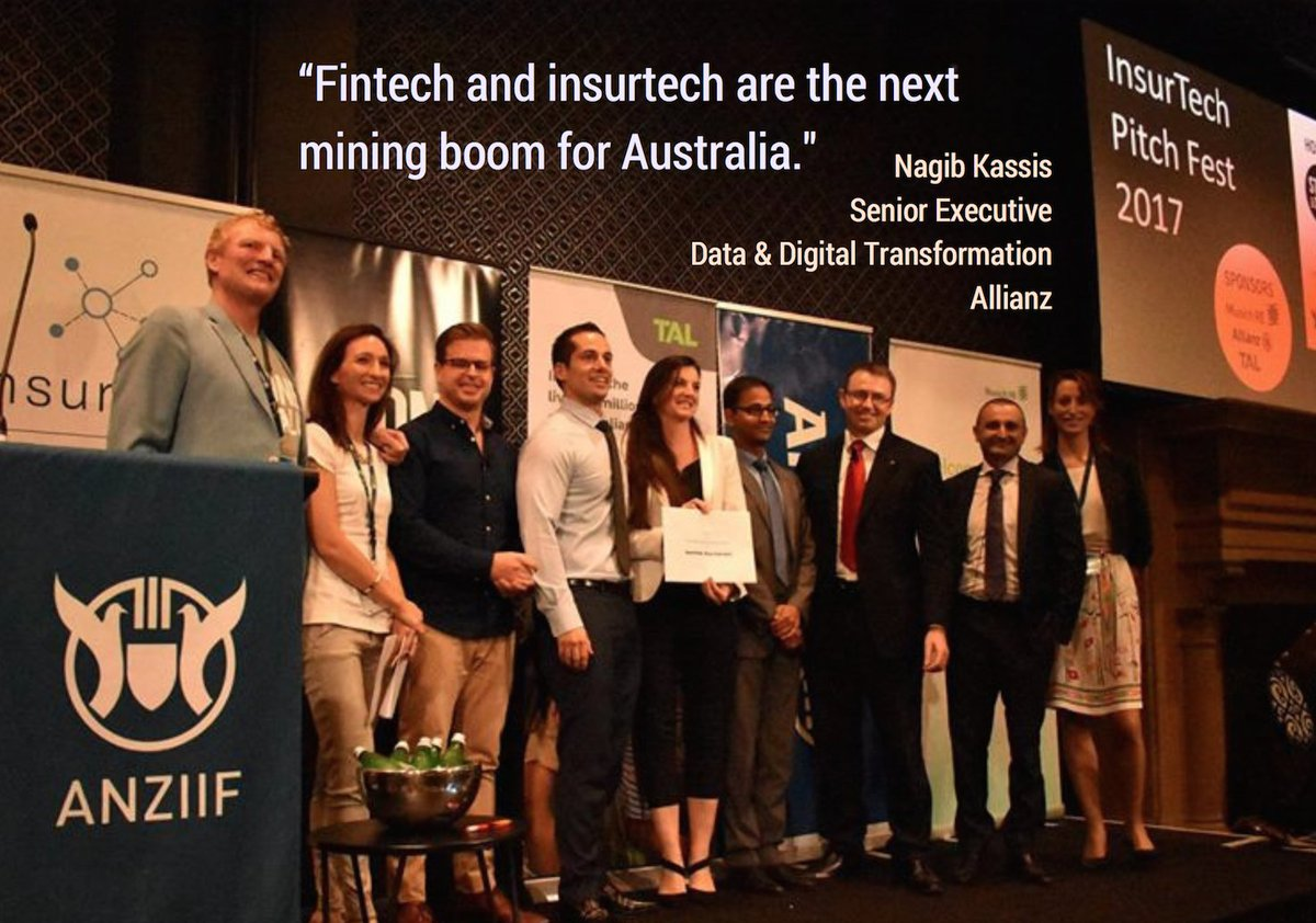 Yesterday our judging panel selected the winners of our #Insurtech Pitch Fest @ANZIIF. Thank you to @allianz_au, @MunichRe & @TALaustralia