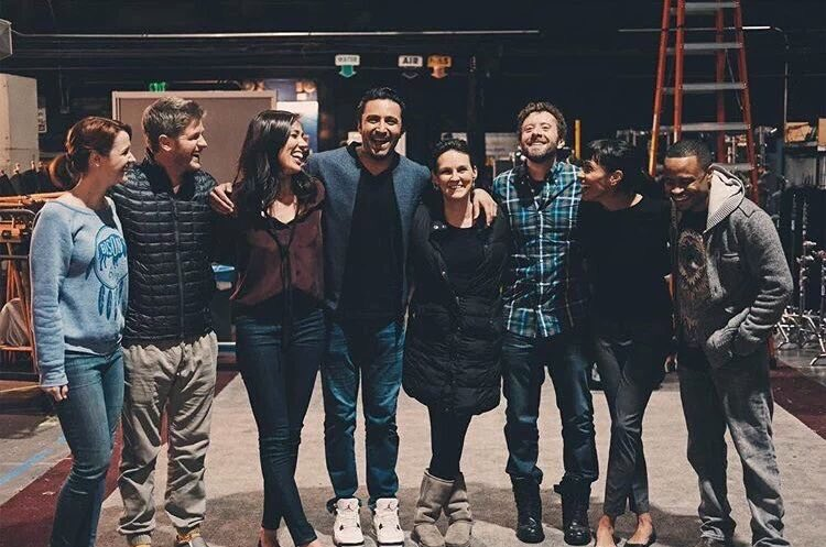 What a complete joy to have worked with these people @BonesonFOX #Bone...