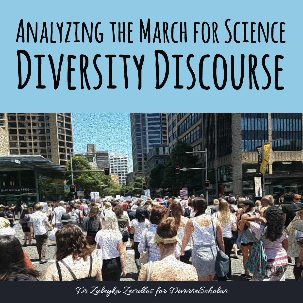 Analyzing the @ScienceMarchDC Diversity Discourse. Inclusion requires work. My latest on @MinorityPostdoc https://t.co/9vuPPSzJ5f #marginsci https://t.co/rRIoEk5YDv