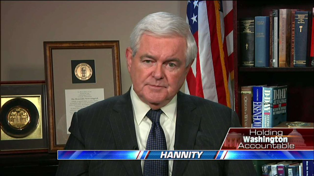 """.@newtgingrich on #AHCA: """"We are lucky that they did not vote last Friday because that bill was at 17 percent."""" #Hannity <br>http://pic.twitter.com/lPXLVdATWQ"""