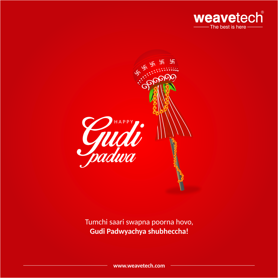 May your dreams be fulfilled and you have a prosperous new year. Happy Gudi Padwa from Weavetech!  #gudipadwa #newyear #happynewyear<br>http://pic.twitter.com/KZCdxflkGK