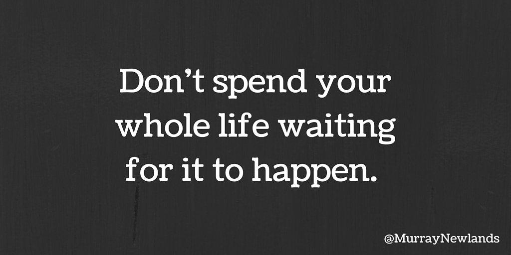 You control your own destiny. You make your life happen.   #TuesdayMot...