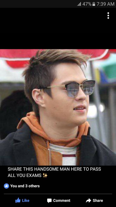 Its your day your birthday Happy happy birthday Enrique Gil Wish you good health always More Projects God Bless