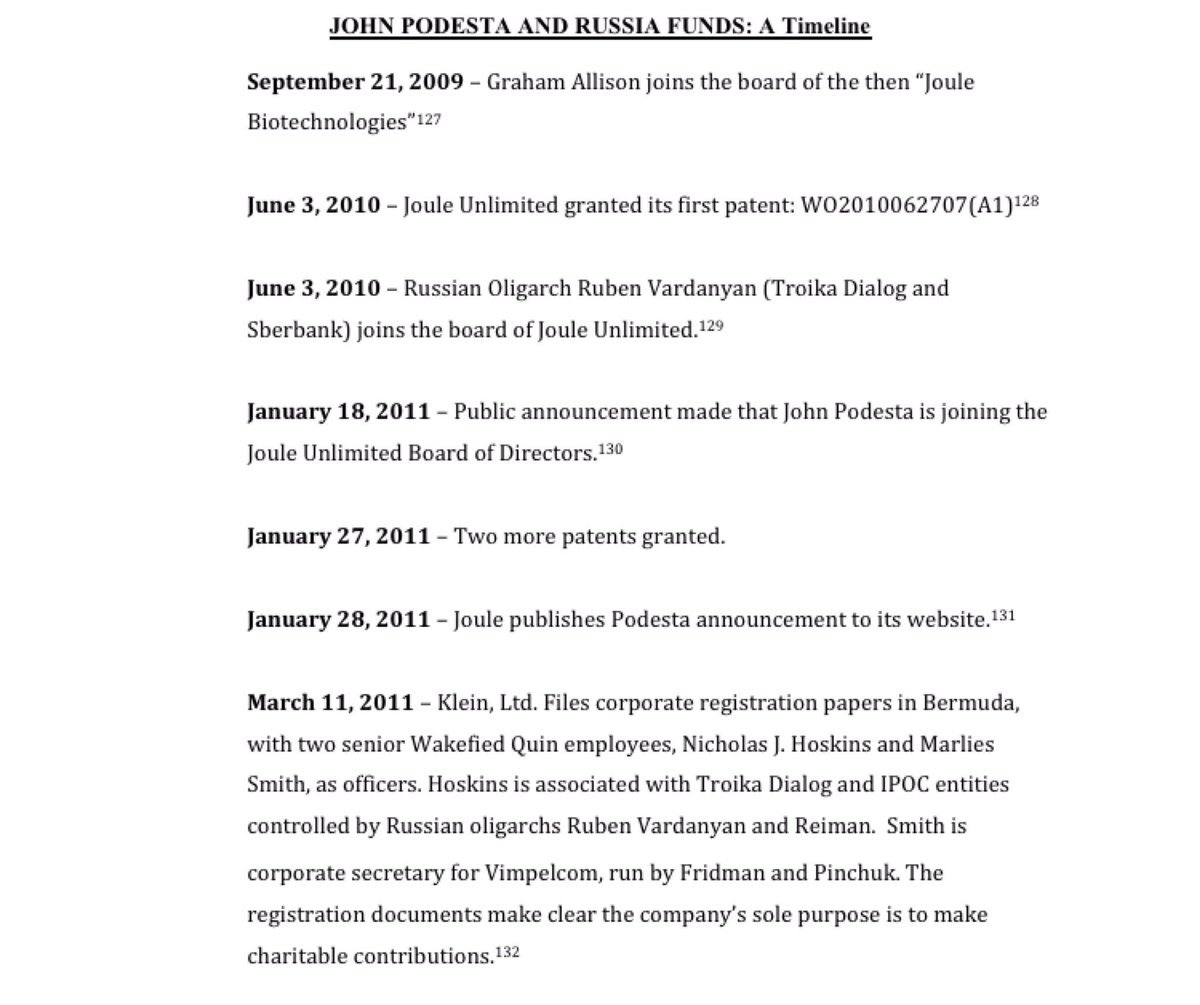 A Podesta timeline, how he got the #Russian money and where it went. THIS is the real #russiagate #TrumpIsRight #podesstagate #hannity <br>http://pic.twitter.com/JF0biQVHWm