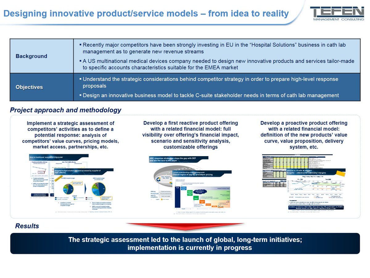 #CaseStudy:How a #US #MedicalDevice company succeeded in designing new #innovative #products, thanks to Tefen. Link:  https:// goo.gl/icULqe  &nbsp;  <br>http://pic.twitter.com/F9tK1GDF58
