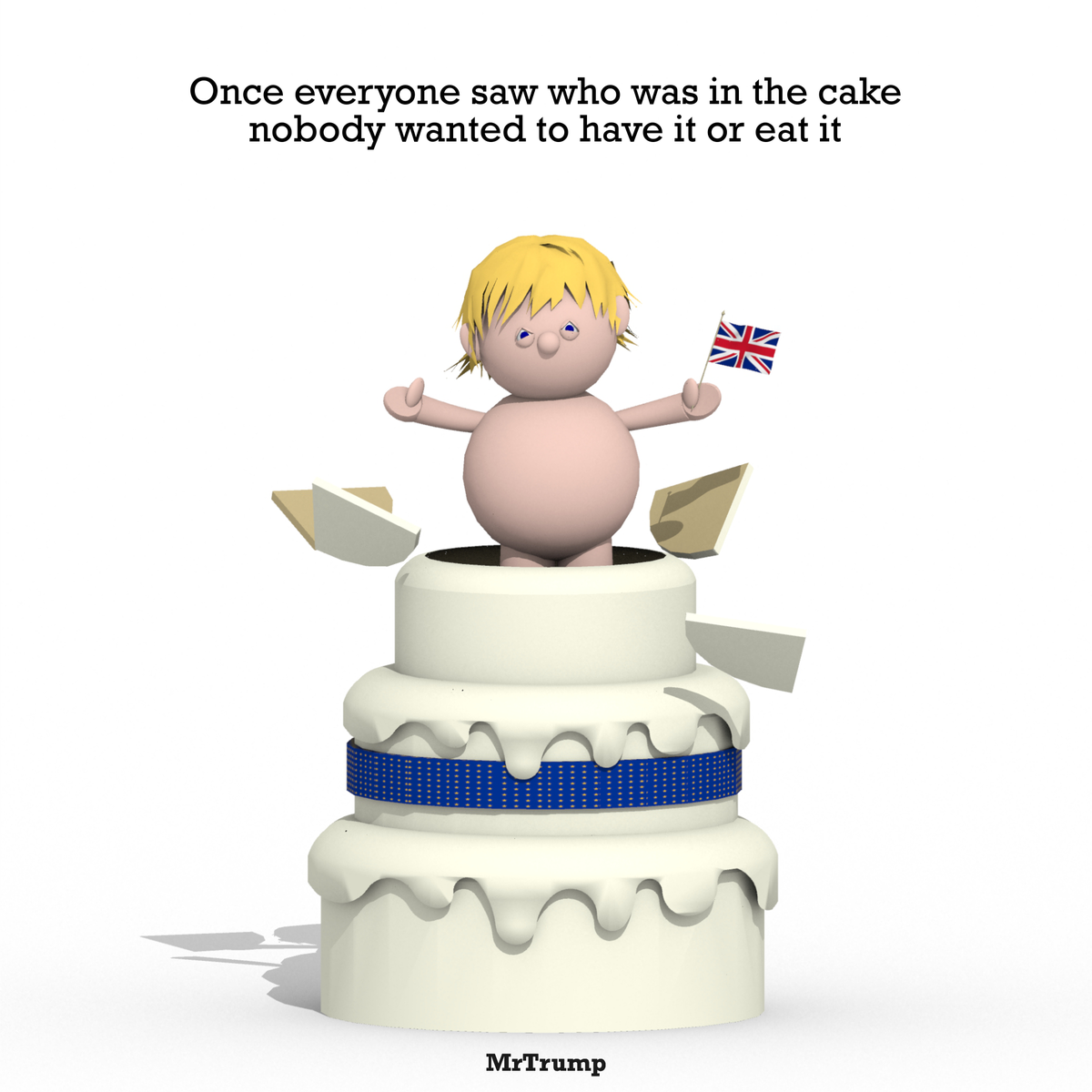 Once everyone saw who was in the cake nobody wanted to have it or eat it   #Hammond #CakeAndEatIt #BrexitCake