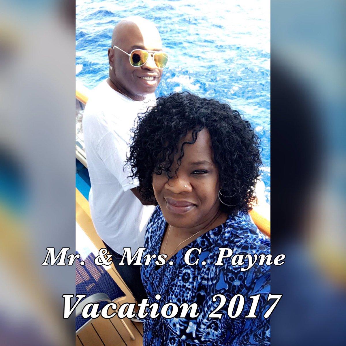 Mr. &amp; Mrs. C. Payne... Vacation 2017 #PositiveVibes #focused #love #blessed #motivation #inspiration #coach #mentor #friend #Entrepreneur<br>http://pic.twitter.com/sPTAtyLUYG
